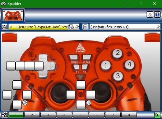 Xpadder + изображения геймпадов